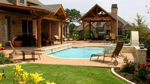 inexpensive pool house ideas interesting small backyard with minimalist pool design homes