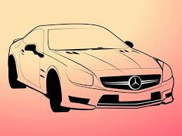 mercedes logo vector mercedes benz outlines vector art u0026 graphics freevector com