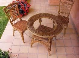 tavoli e sedie da giardino usati produzione e vendita di mobili in vimini e bambu in umbria