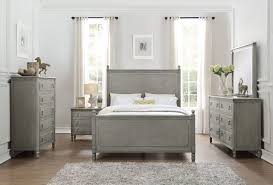 Grey Queen Size Bedroom Furniture Homelegance Aviana Antique Grey Queen Size Bedroom Set 1977 1