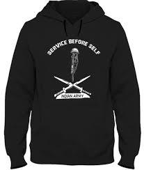 indian army service before self hoodie livebindaas