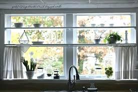 Kitchen Window Shelf Ideas Window Shelves How To Make Glass Shelf Brackets Glass Window