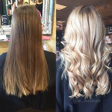 Light Blonde Balayage Best 25 Full Head Highlights Ideas On Pinterest Brown Hair With