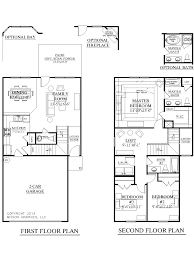 Duplex Floor Plan by Duplex Floor Plans With Garage Top Story Row House Floor Plans