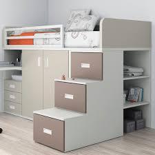 lit enfant combiné bureau lit simple contemporain pour enfant unisexe combiné touch