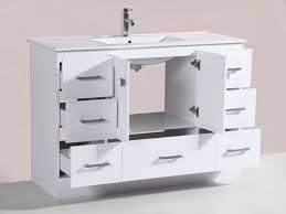 60 Inch Vanity With Single Sink Furniture Elegant U003e Bath U003e Bathroom Vanities U003e 60 Inch