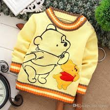Sweaters For Toddler Boy High Quality Baby Clothing Fashion Cartoon Character Baby Boys