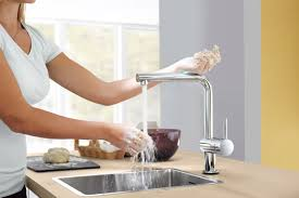Grohe Kitchen Faucets Reviews Touchless Kitchen Faucet Costco Kitchen Faucet Emmolo And