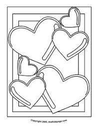 valentine u0027s coloring loving elephant coloring