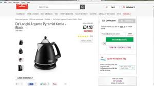 delonghi kmix 2 slice toaster delonghi argento black pyramid kettle review youtube