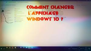 afficher l heure sur le bureau comment changer l affichage windows 10