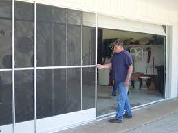 exterior design awesome retractable screen door in white for home