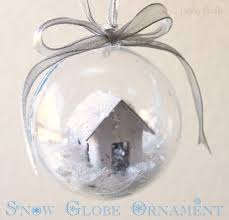 diy snow globe ornament she or so she says