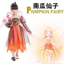 Pumpkin Princess Halloween Costume Cheap Pumpkin Costumes Kids Aliexpress