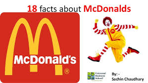 mcdonald lesser known facts