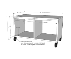 wood work mudroom bench dimensions pdf plans