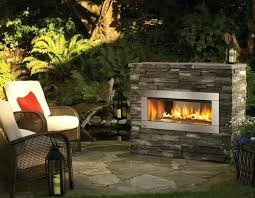 Backyard Fireplaces Ideas Outdoor Fireplaces Pictures In Propane Gas Outdoor Fireplace