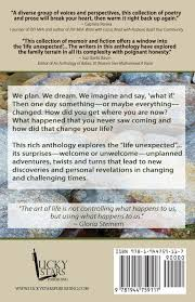 amazon com the life changing the life unexpected an anthology of stories and poems susan