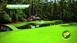 course flyover augusta national golf club s 12th hole youtube