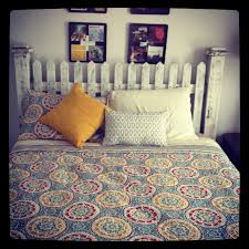 picket fence headboard quilt bedspread i love my bed furniture