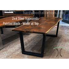 edge black walnut dining table configurator