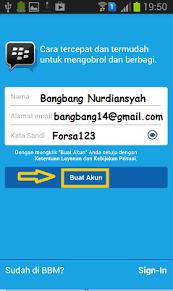 membuat akun gmail bbm cara daftar bbm baru buat akun bbm id tips cara mudah daftar