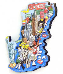 manhattan on map manhattan map artwood magnet classicmagnets
