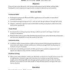 problem solving skills resume example sample chronological resume