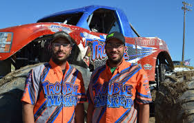 monster truck shows groth twins rev up monster truck shows local idahostatejournal com