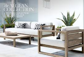 restoration hardware discover aegean outdoor collection by