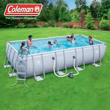 Plastic Swimming Pools At Walmart Brilliant Rectangle Above Ground Pool Style Rectangular Swimming