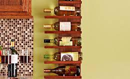 Free Wood Wine Rack Plans by Hanging Pot Rack