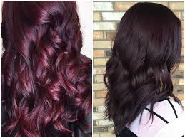 deep purple color 60 burgundy hair color ideas maroon deep purple plum burgundy