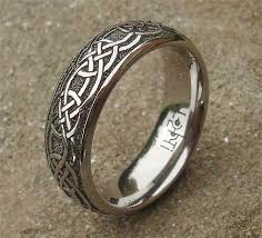 celtic rings men s modern titanium celtic wedding ring love2have in the uk