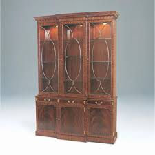 glass shelves for china cabinet smith light crotch mahogany lighted breakfront china cabinet glass