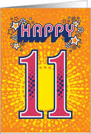 11th birthday cards from greeting card universe