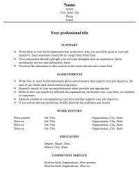 Good Resume Introduction Examples by Astonishing Resume Achievement Statements Examples 63 With