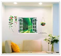 wall stickers home decor supply ay914 fake window factory outlets wall stickers home decor supply ay914 fake window factory outlets pvc removable wall stickers transparent film
