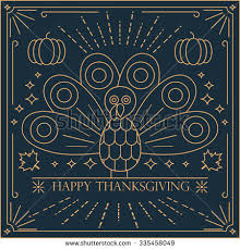happy thanksgiving card turkey bird pilgrim stock vector 727088056