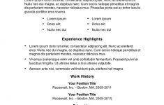 Resume Samples Microsoft Word by Resume Template Microsoft Word Gfyork Com