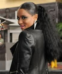 pics of black woman clip on hairstyle natural straight black hair clip in peruvian human hair drawstring