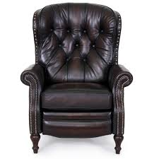 furniture brown omnia leather fairmont reclining sofa full with
