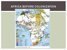 africa map before colonization european colonization of africa ppt