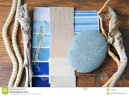 Color Interior Design Interior Design Color And Upholstery Planning Stock Photo Image