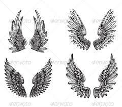 wings design designs and mens tattoos