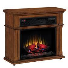 shop duraflame 33 in w 5 200 btu vintage mahogany wood infrared