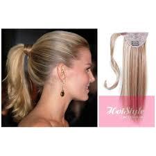clip on ponytail ponytail hair extension clip best human hair extensions