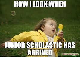 Junior Meme - how i look when junior scholastic has arrived meme