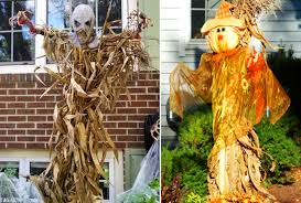 Corn Stalk Decoration Ideas 10 Scarecrow Decorations For Halloween Fright And Fun Homecrux