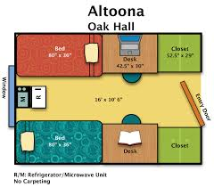 Penn State Campus Map by Residence Halls Altoona Housing U0026 Food Services
